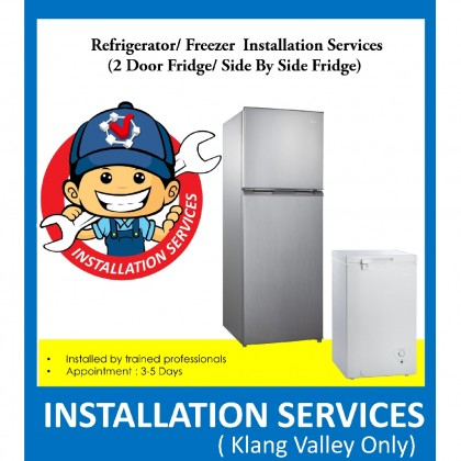 Professional Fridge & Freezer Installation Services ( For Klang Valley Only )