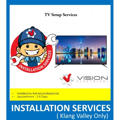 Professional TV Setup Services ( Only For Klang Valley )