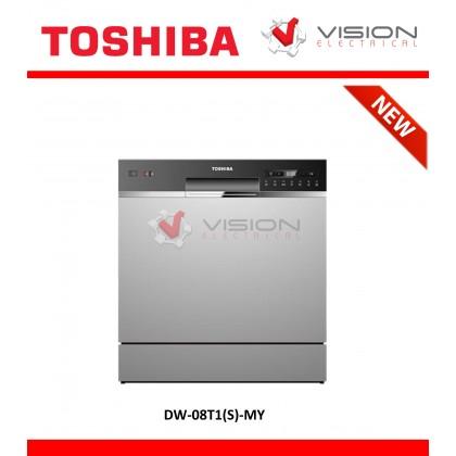Toshiba 8 Place Setting Dishwasher DW-08T1(S)-MY ( Mesin Pencuci Pinggan )