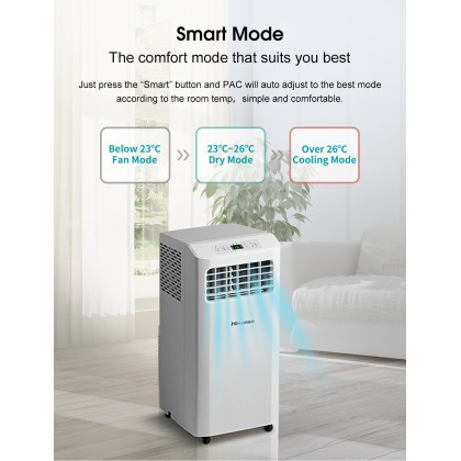 Hisense 1.0hp R32 Portable Air Conditioner (AP09KVG)