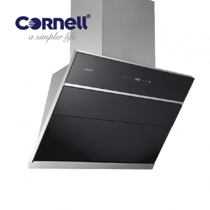[COMBO] CORNELL CMH-PE75SC 1500m³/Hr Cooker Hood + CORNELL CBH-G782MCS 2 Burners Gas Cooker Dapur Gas 抽油烟机配套
